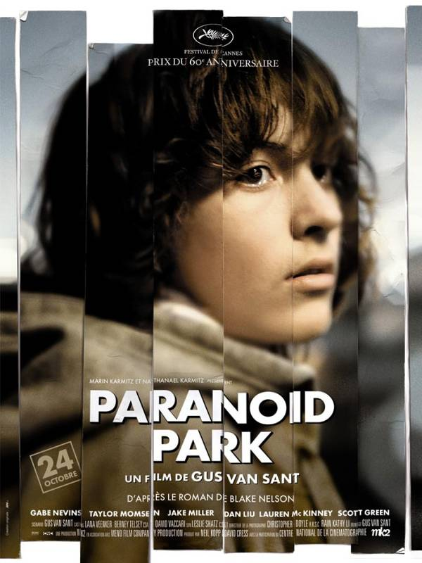 "Cartaz do filme ""Paranoid Park"""
