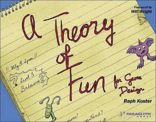 "Capa do livro ""A Theory of Fun for Game Design"""