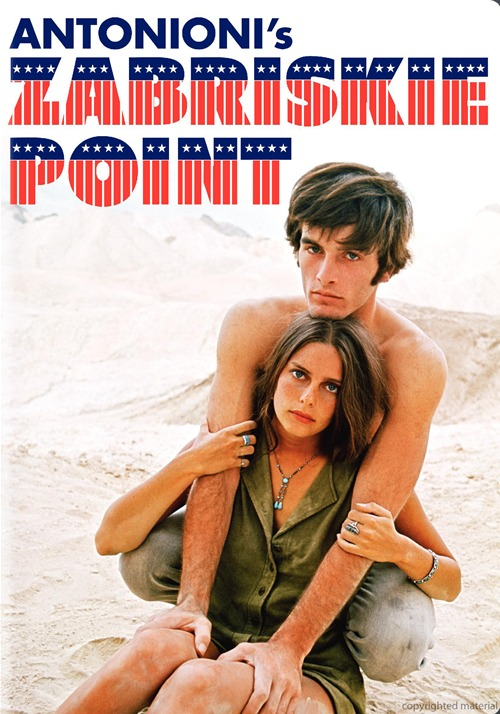 "Cartaz do filme ""Zabriskie Point"""